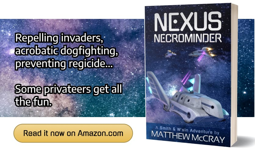 Nexus Necrominder: Now available at Amazon.com